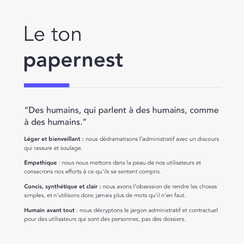 papernest ton | Collectif.huge